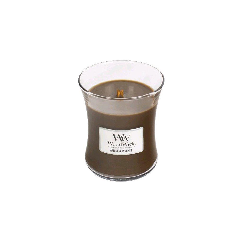 WoodWick - vonná svíčka Ambra & kadidlo 275g