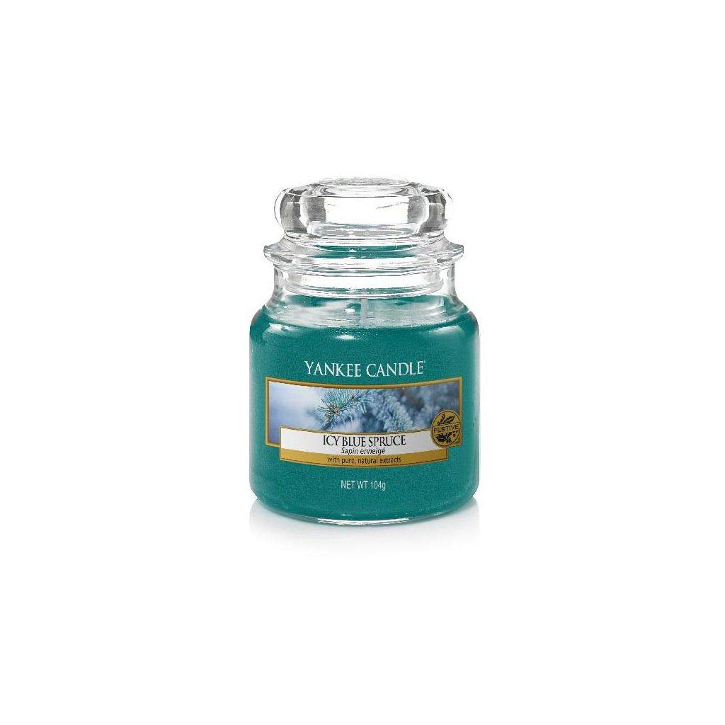 Yankee Candle - vonná svíčka Icy Blue Spruce 104g