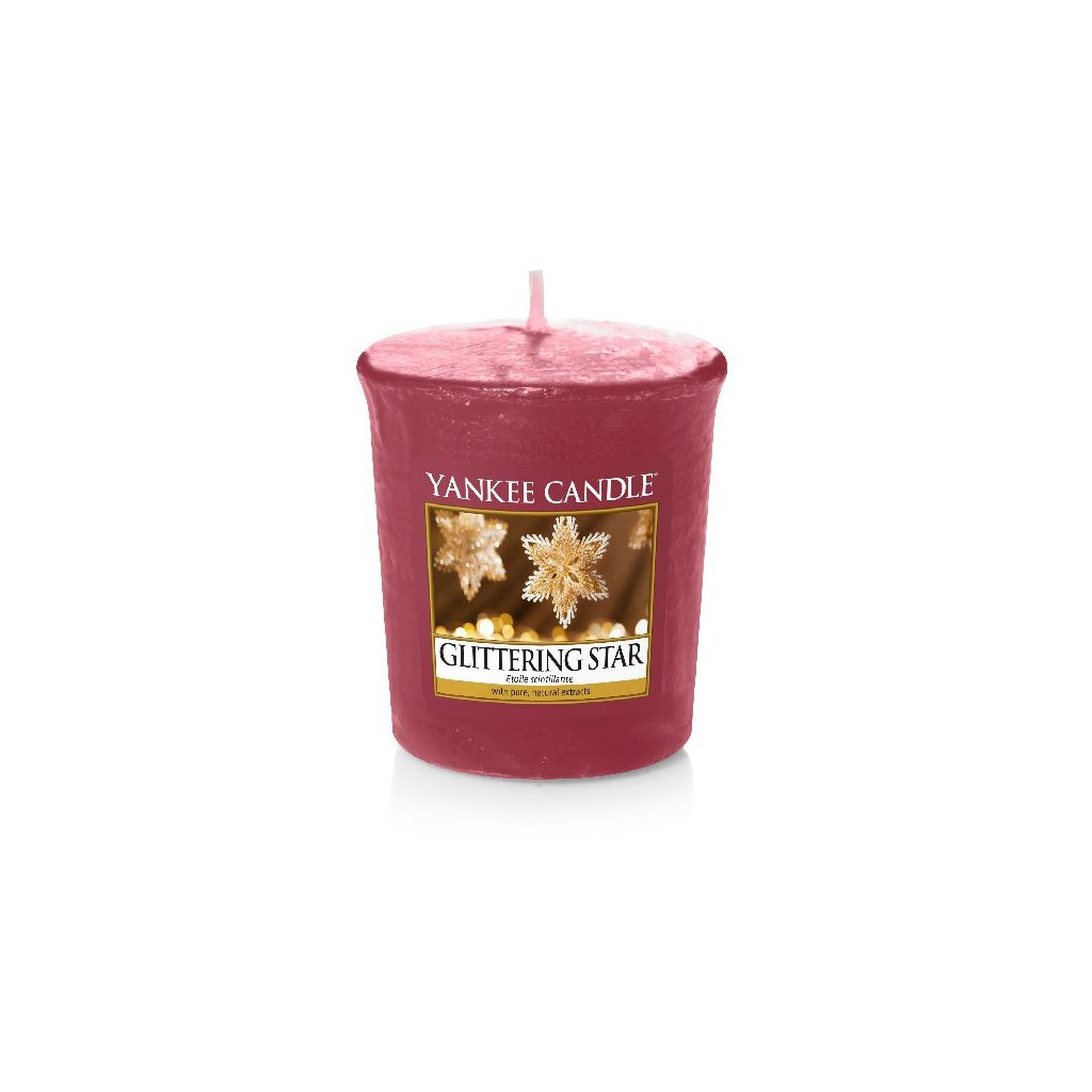 Yankee Candle - votivní svíčka Glittering Star 49g