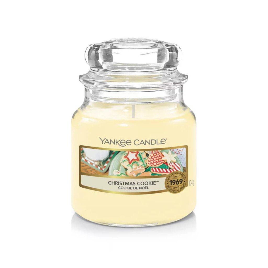 Yankee Candle - vonná svíčka Christmas Cookie (Vánoční cukroví) 104g