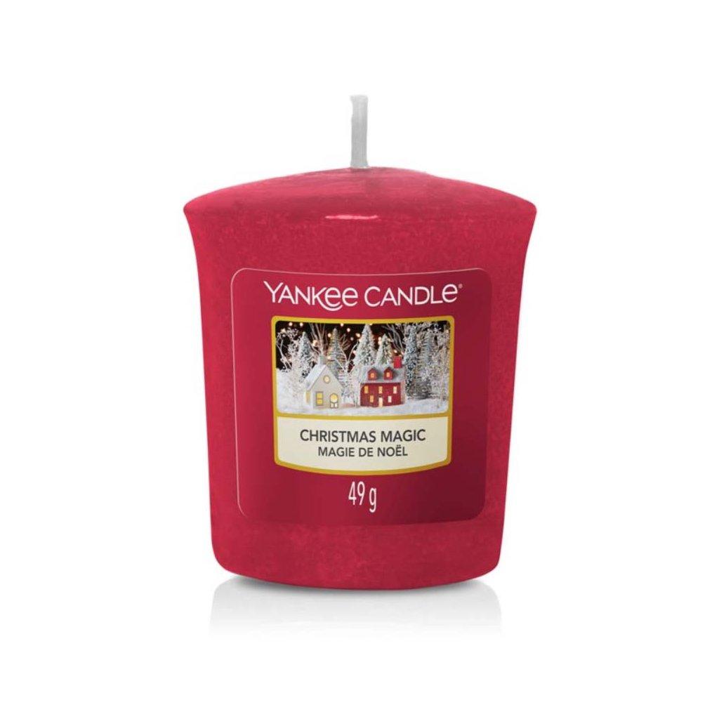 Yankee Candle - votivní svíčka Christmas Magic (Vánoční kouzlo) 49g