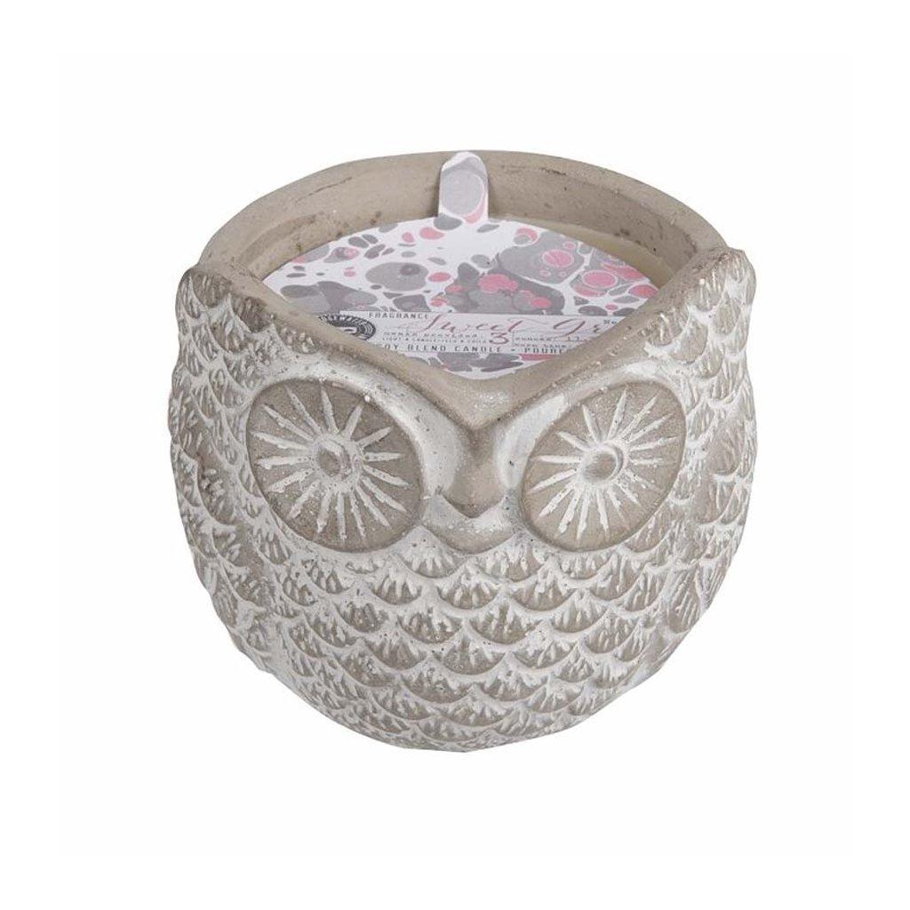 Bridgewater - vonná svíčka Sweet Grace v keramice, 321g