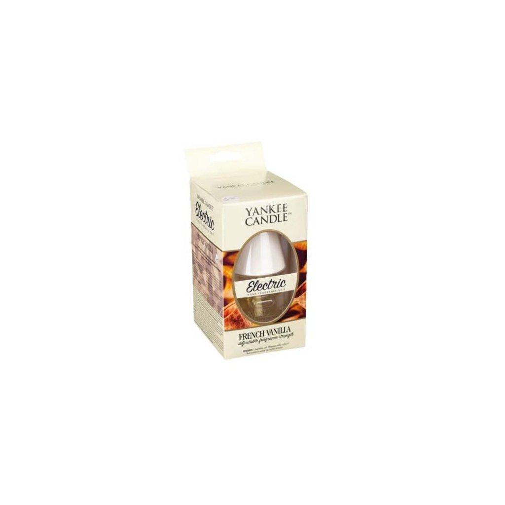 Yankee Candle - elektrický difuzér do zásuvky ELECTRIC, vůně French Vanilla