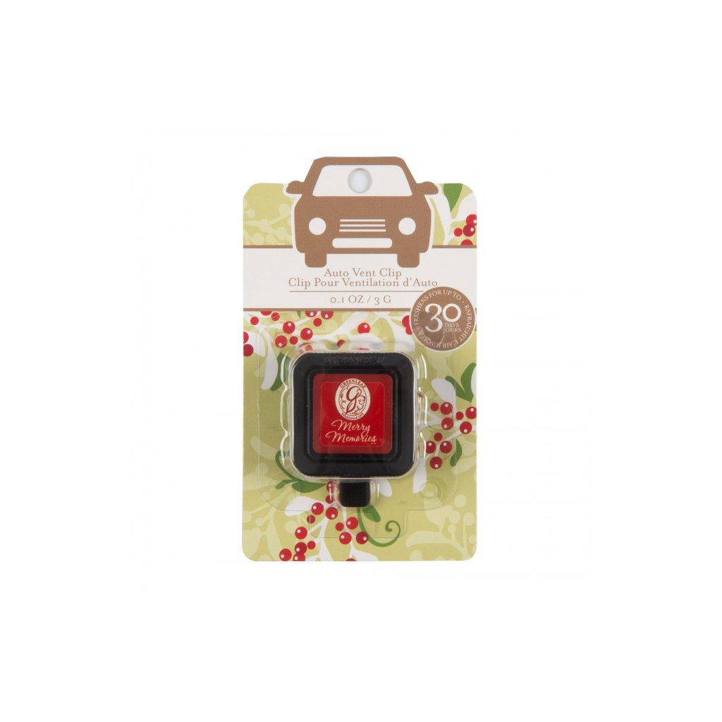Greenleaf - vůně do auta Merry Memories 3g