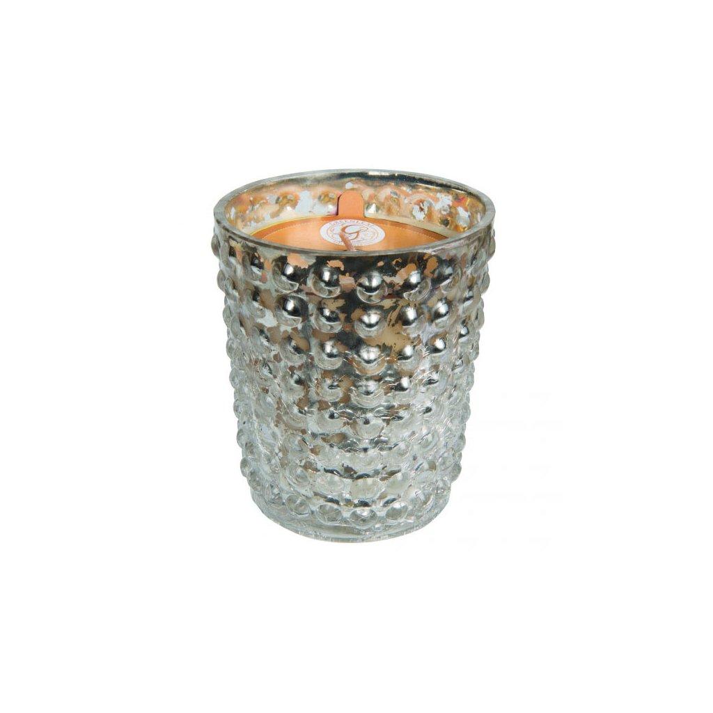 Greenleaf - vonná svíčka Wintertime Wishes, ve zdobeném skle 270g