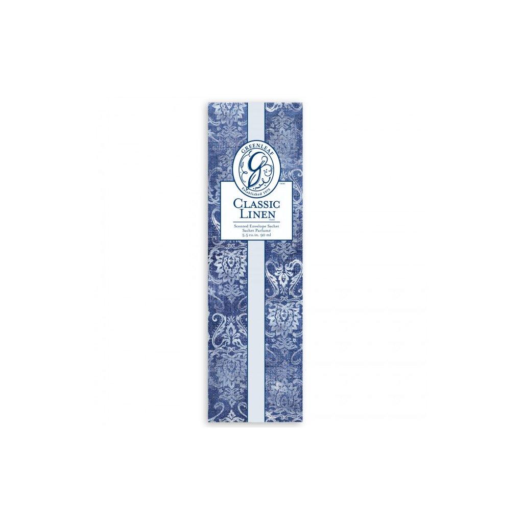 Greenleaf - vonný sáček slim Classic Linen 90ml