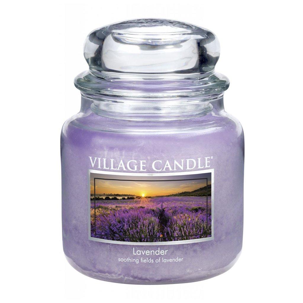 Village Candle - vonná svíčka Levandule 454g