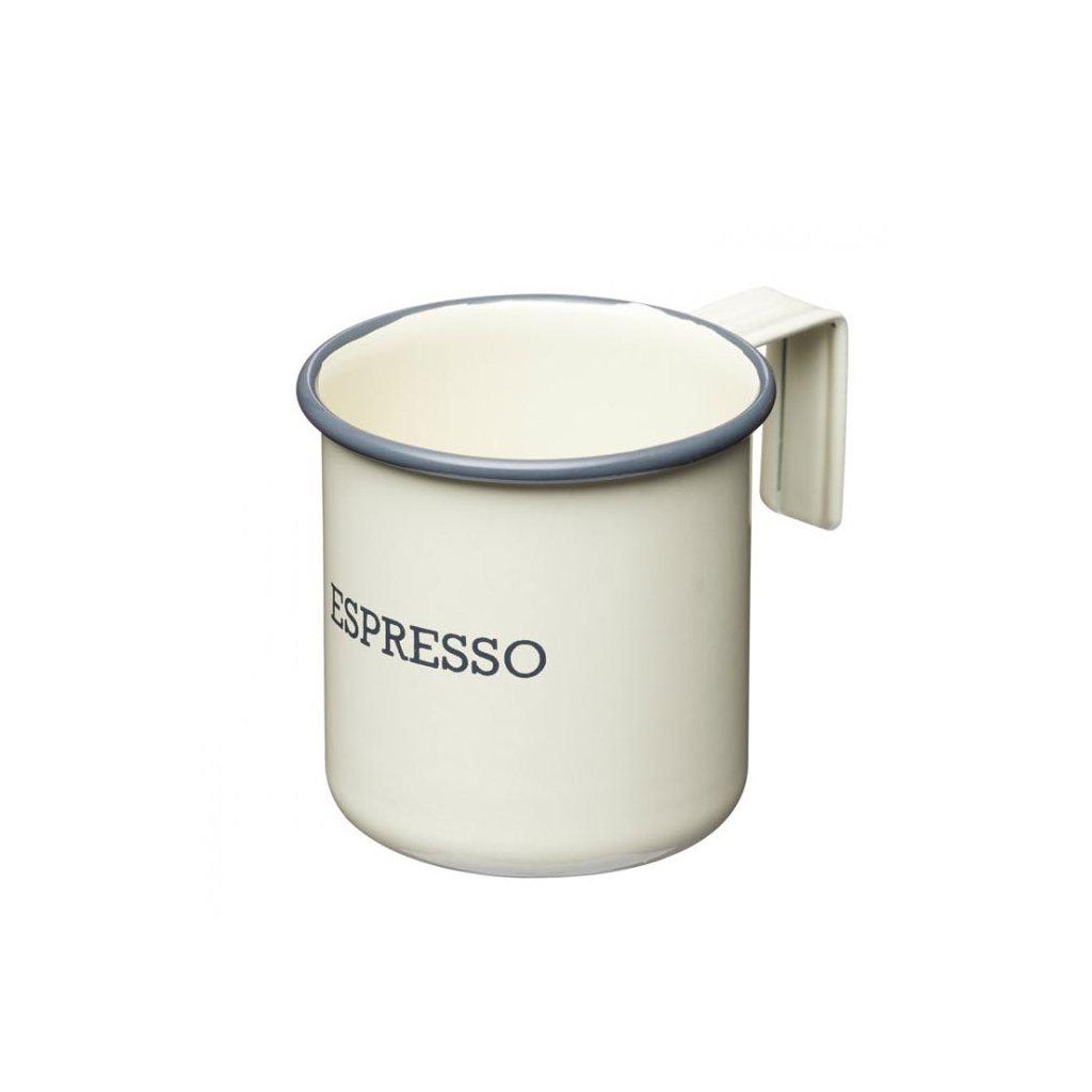 Kitchen Craft - hrnek na espresso Living Nostalgia 75 ml, krémový