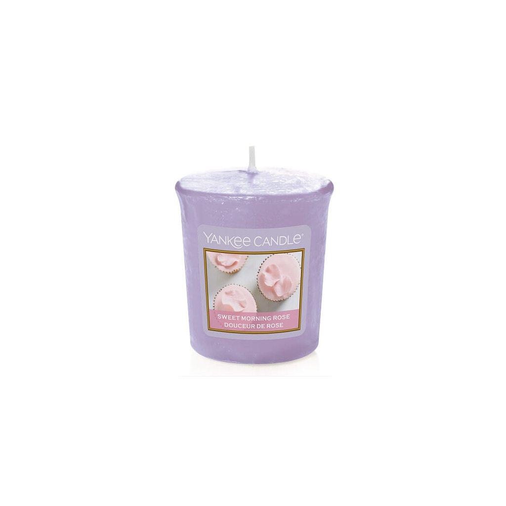 Yankee Candle - votivní svíčka Sweet Morning Rose 49g