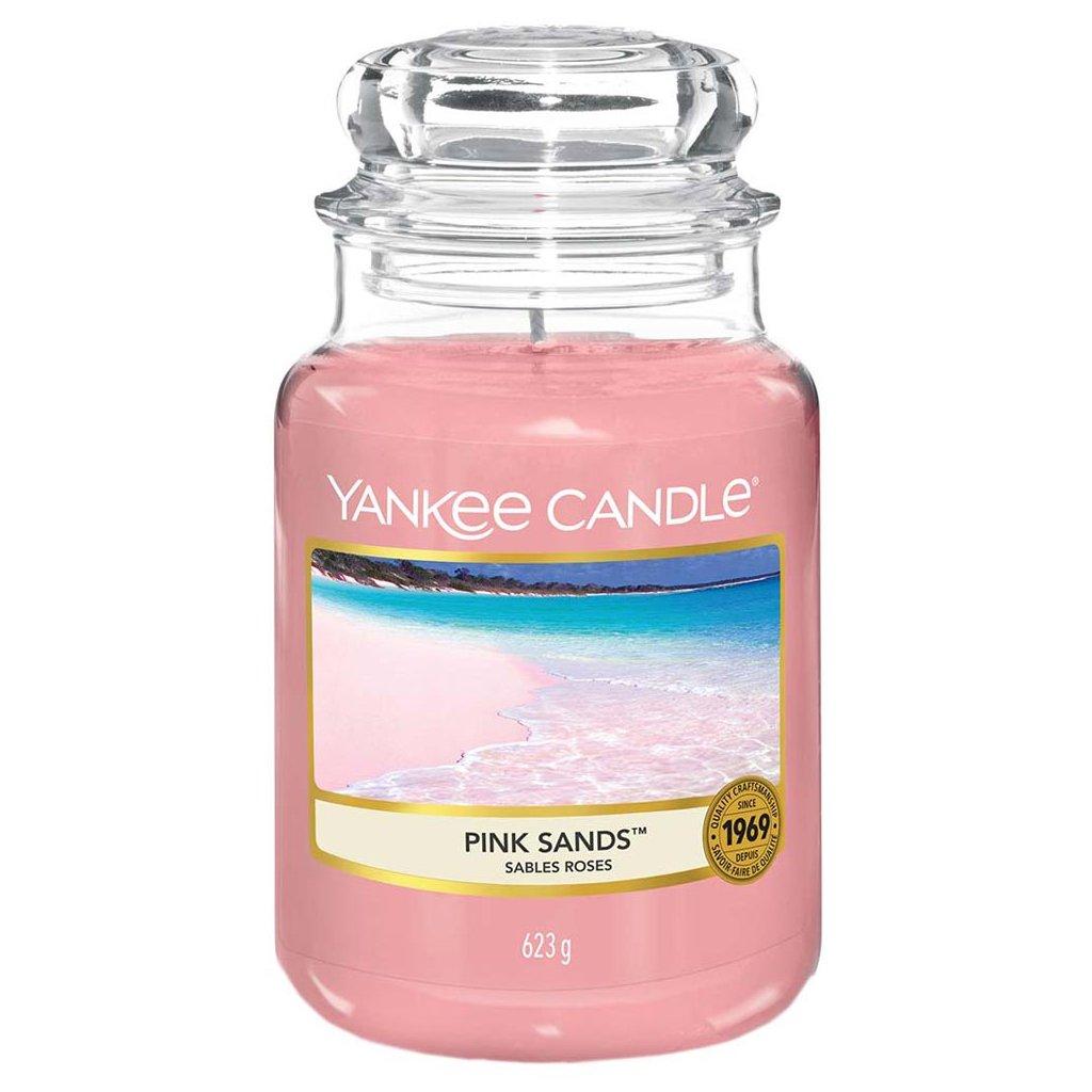 Yankee Candle - vonná svíčka Pink Sands (Růžové písky) 623g