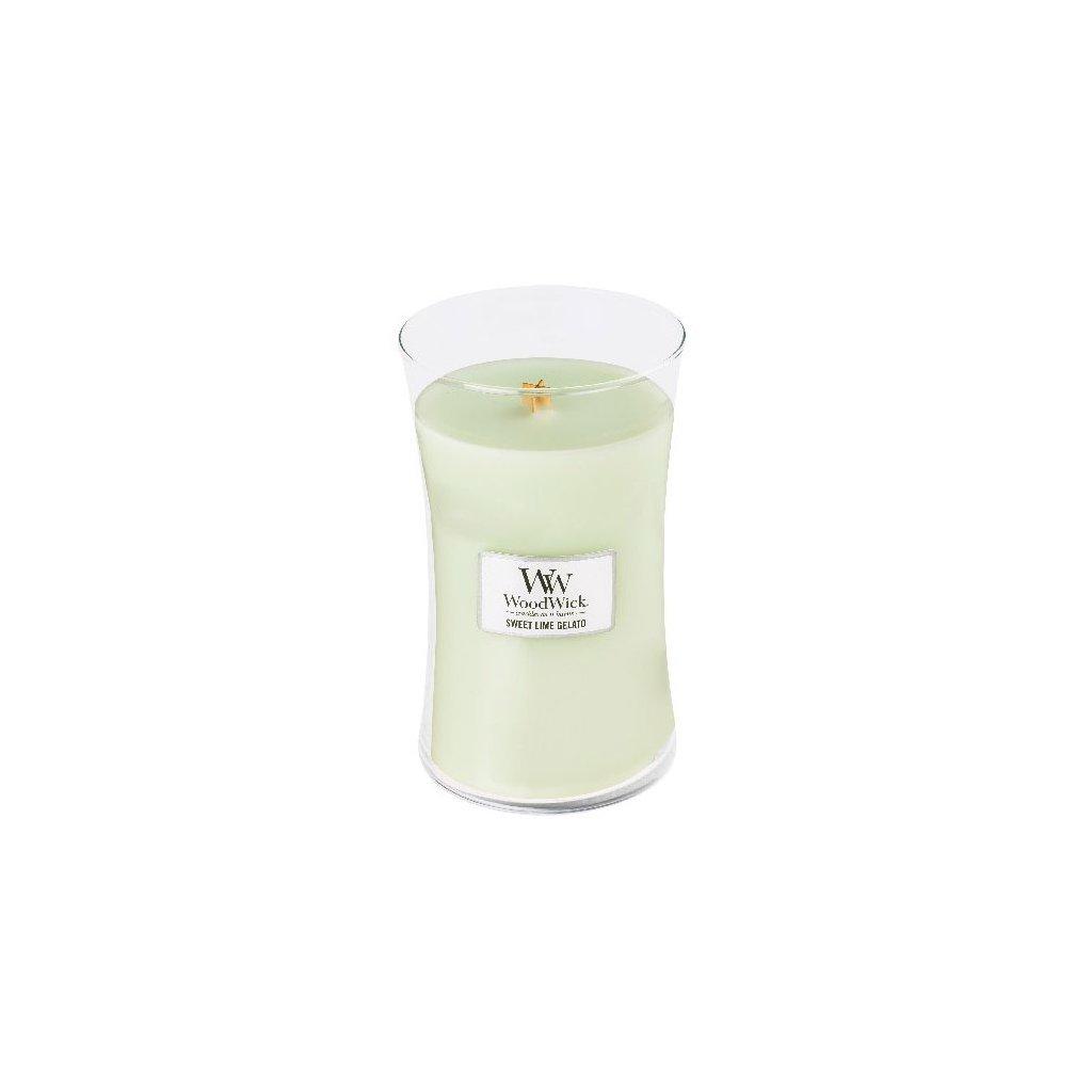 WoodWick - vonná svíčka Sladká zmrzlina 609g