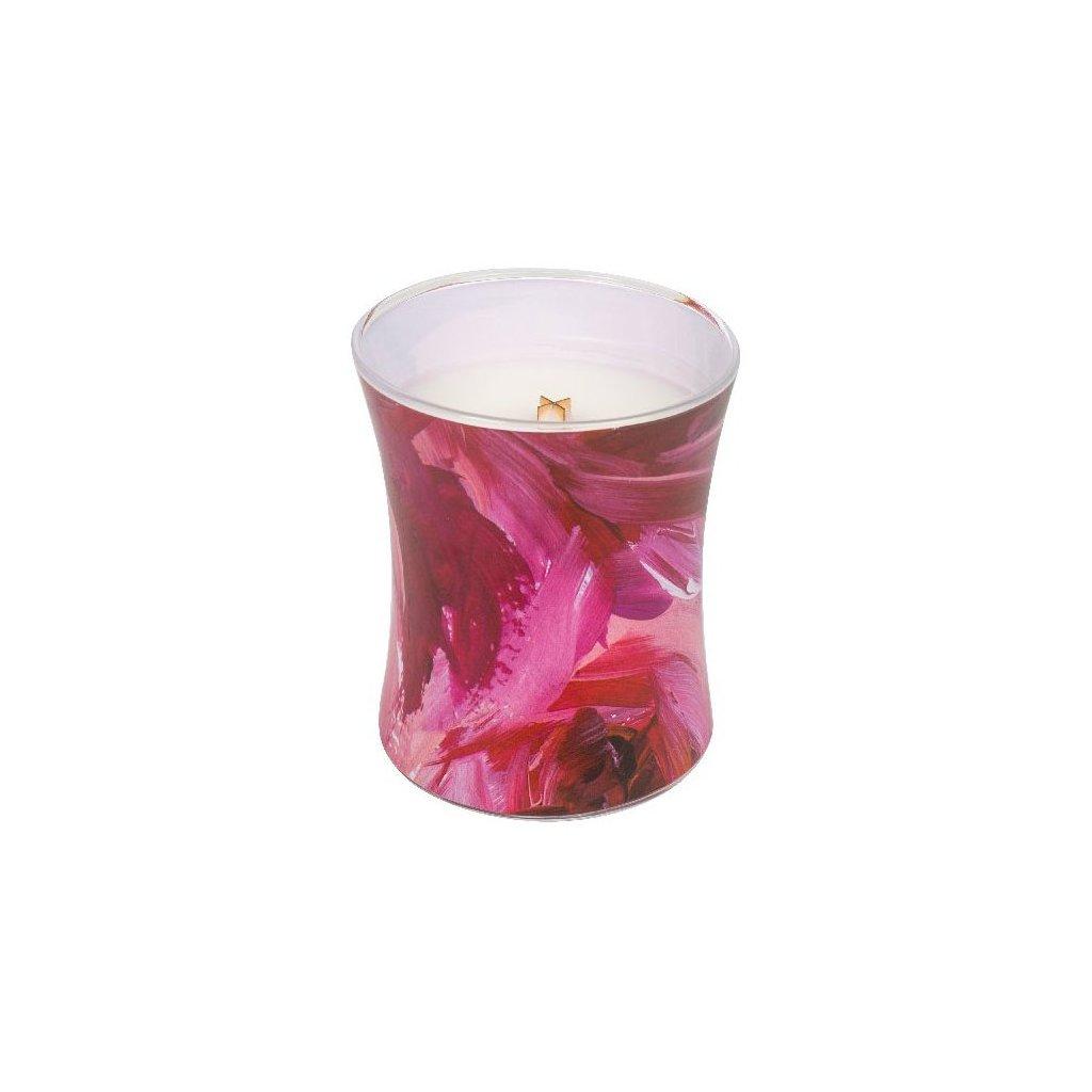 WoodWick - vonná svíčka Červený rybíz & cedr, kolekce Artisan 275g