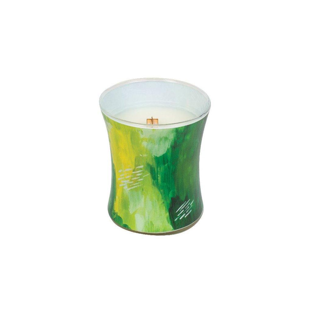 WoodWick - vonná svíčka Limetka a bergamot, kolekce Artisan 275g