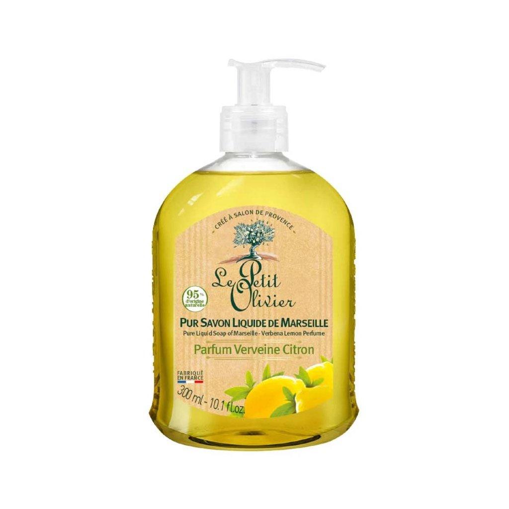 Le Petit Olivier - přírodní tekuté mýdlo Verbena & Citrón 300 ml