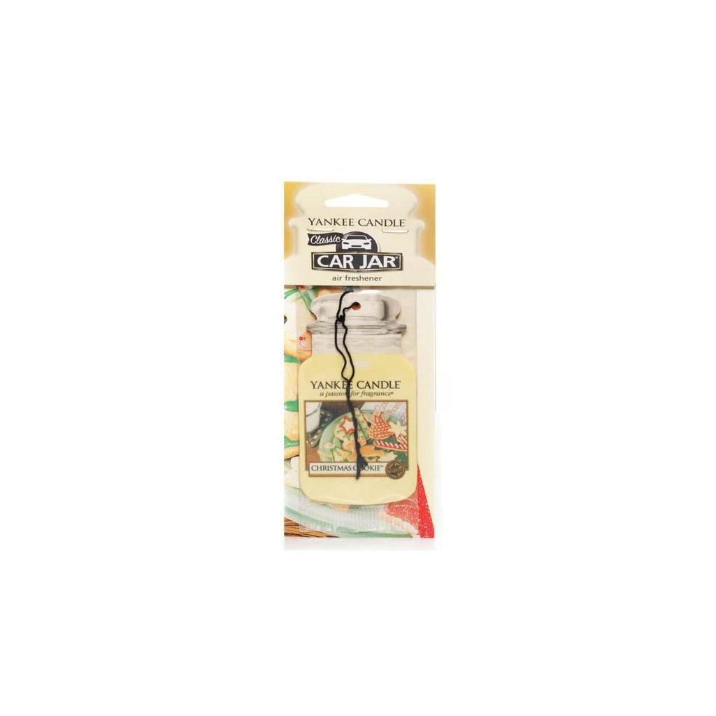 Yankee Candle - papírová visačka do auta Christmas Cookie 1 ks