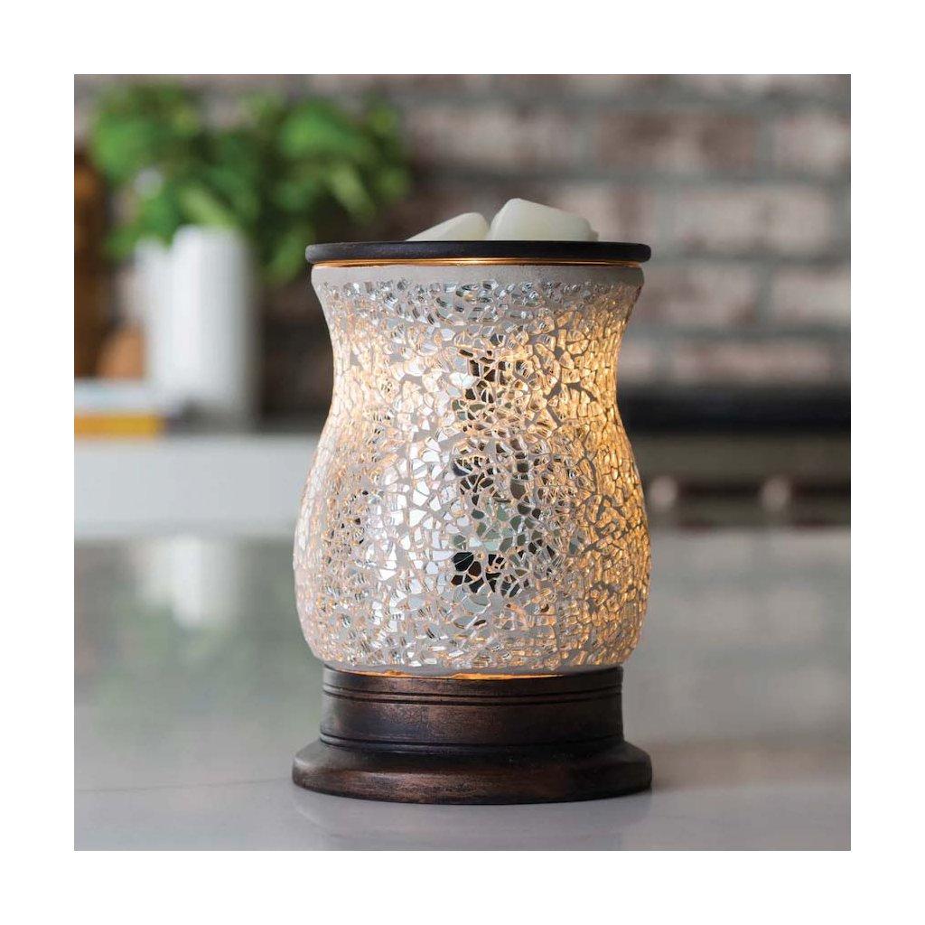 Candle Warmers - elektrická aromalampa Glass Illumination Reflection