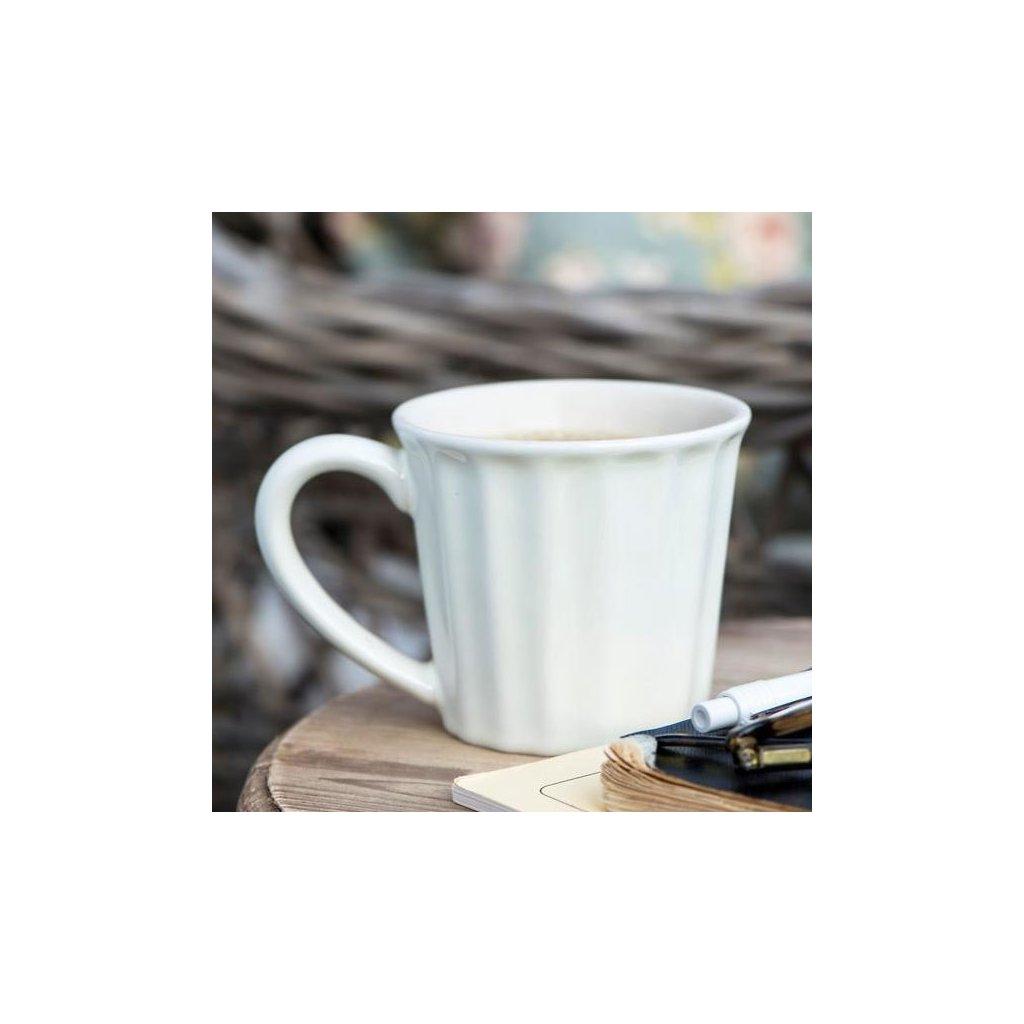 Ib Laursen - hrnek Mynte Pure White 250 ml