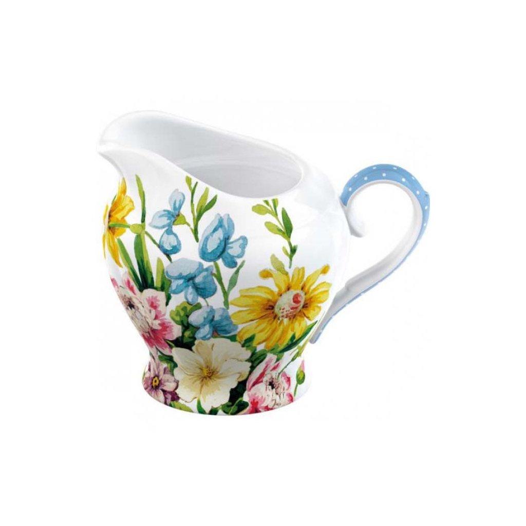 Katie Alice - porcelánová mléčenka English Garden 275 ml