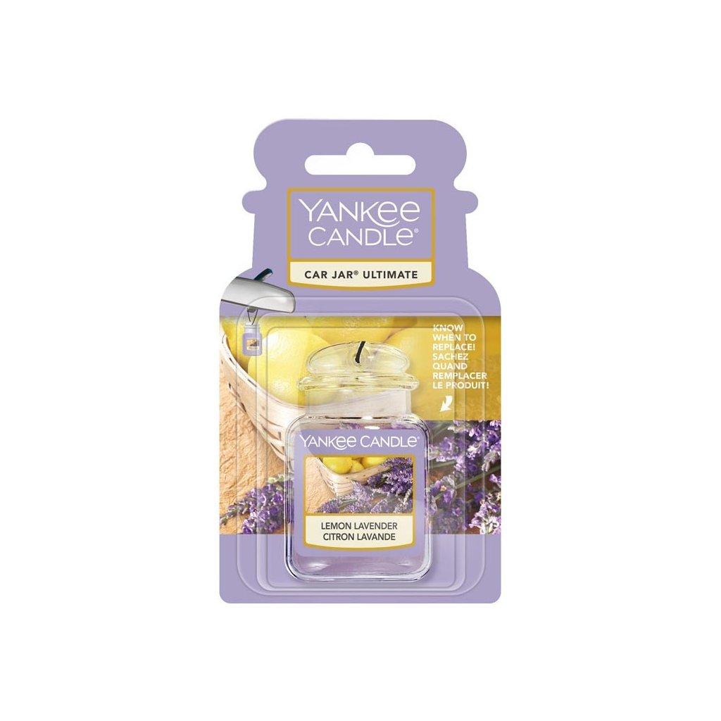 Yankee Candle - gelová visačka do auta Lemon Lavender 1 ks