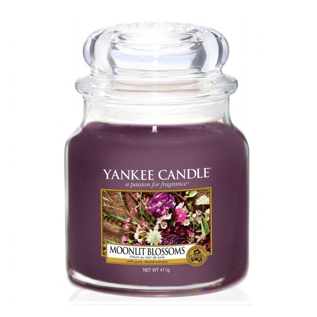 Yankee Candle - vonná svíčka Moonlit Blossoms 411g