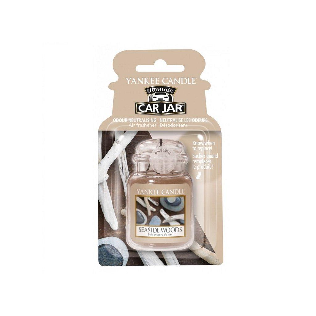 Yankee Candle - gelová visačka do auta Seaside Woods 1 ks