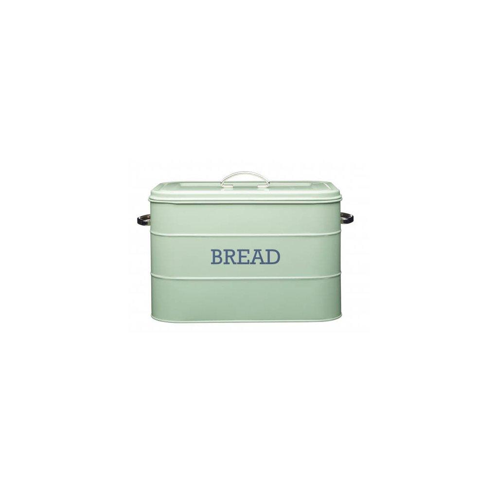 Kitchen Craft - chlebník Living Nostalgia, zelený