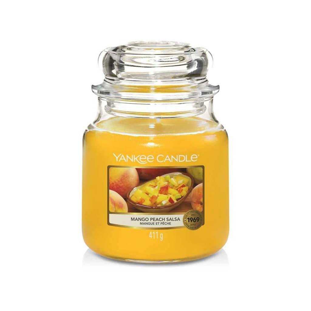 yankee candle mango peach salsa sttedni svicka