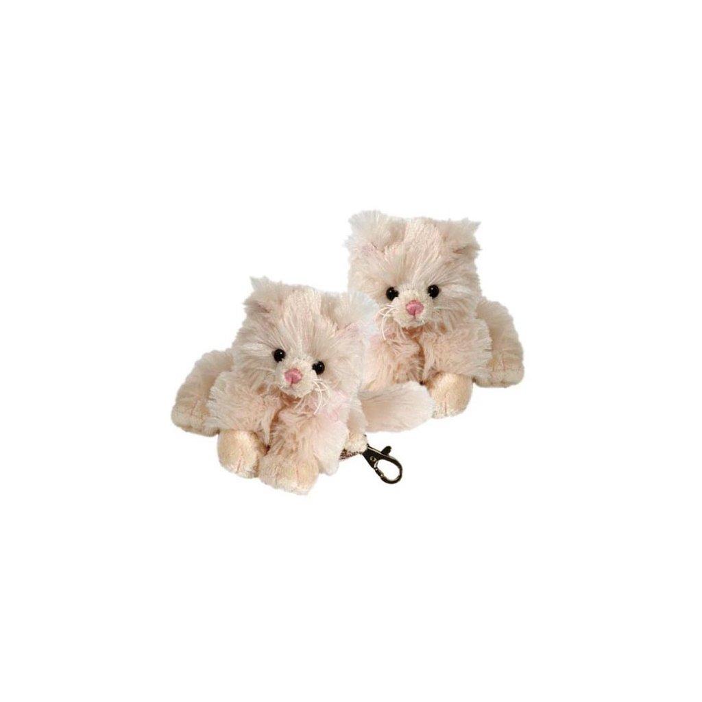 Bukowski - klíčenka kočička bílá Guccio