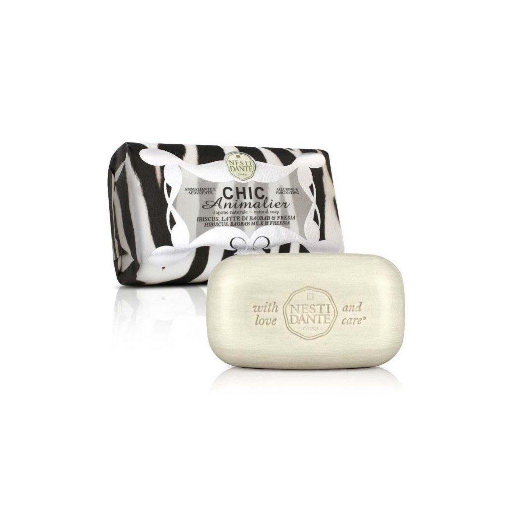 Nesti Dante - přírodní mýdlo Chic Animalier, Bílý tygr 250g