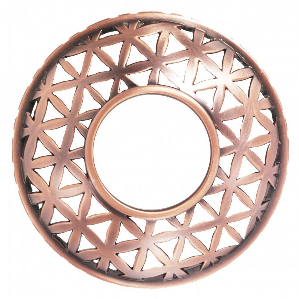 Yankee Candle - prstenec na svíčku Belmont Copper Metal