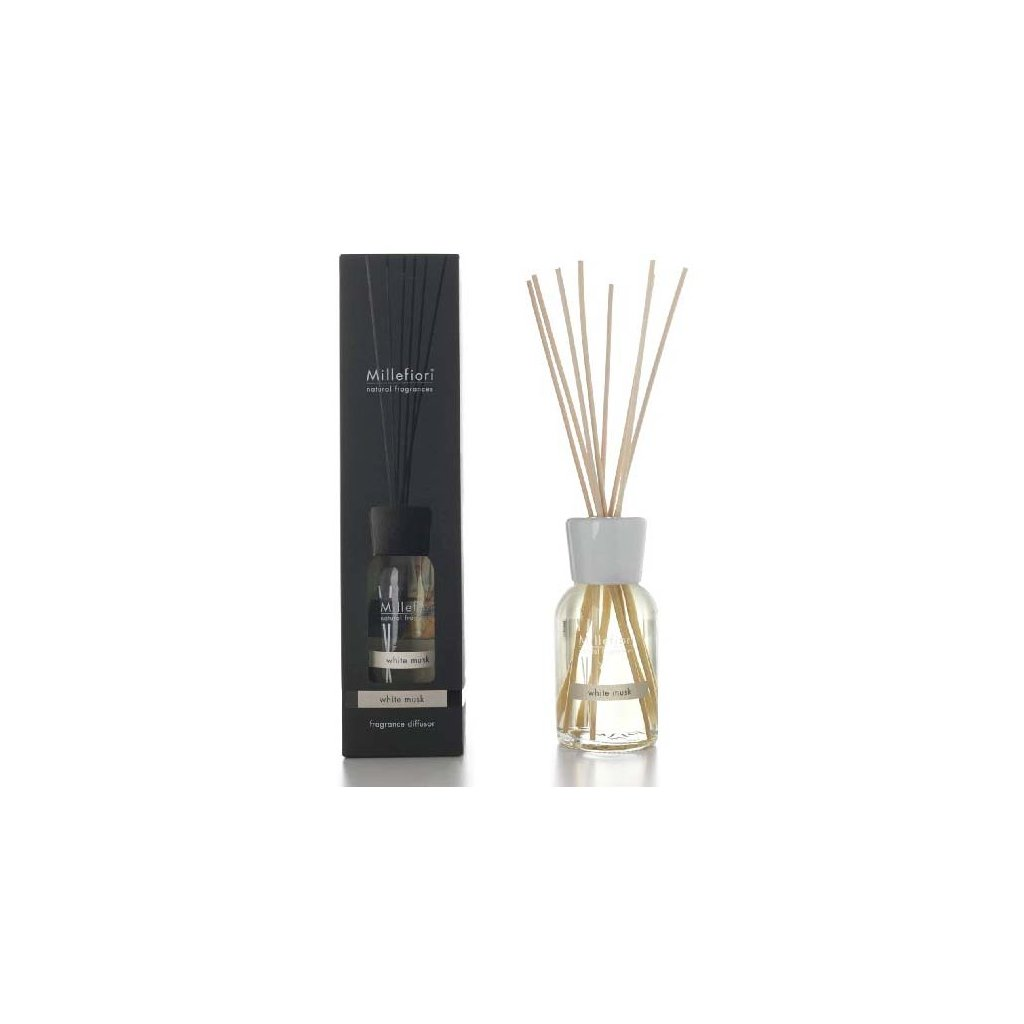 Millefiori Milano - aroma difuzér White Musk, Natural 250 ml