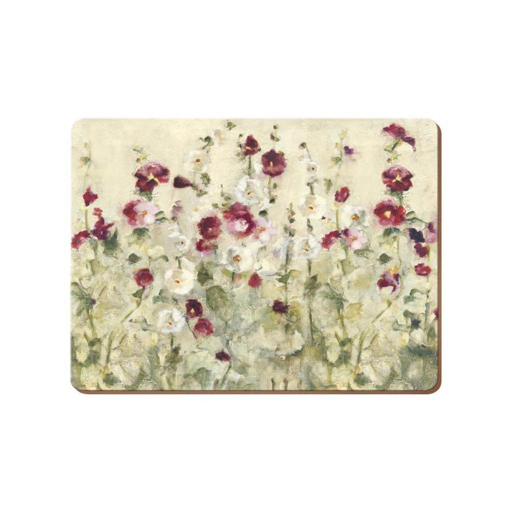 Creative Tops Premium - korkové prostírání Wild Field Poppies 30x23 cm, 6 ks