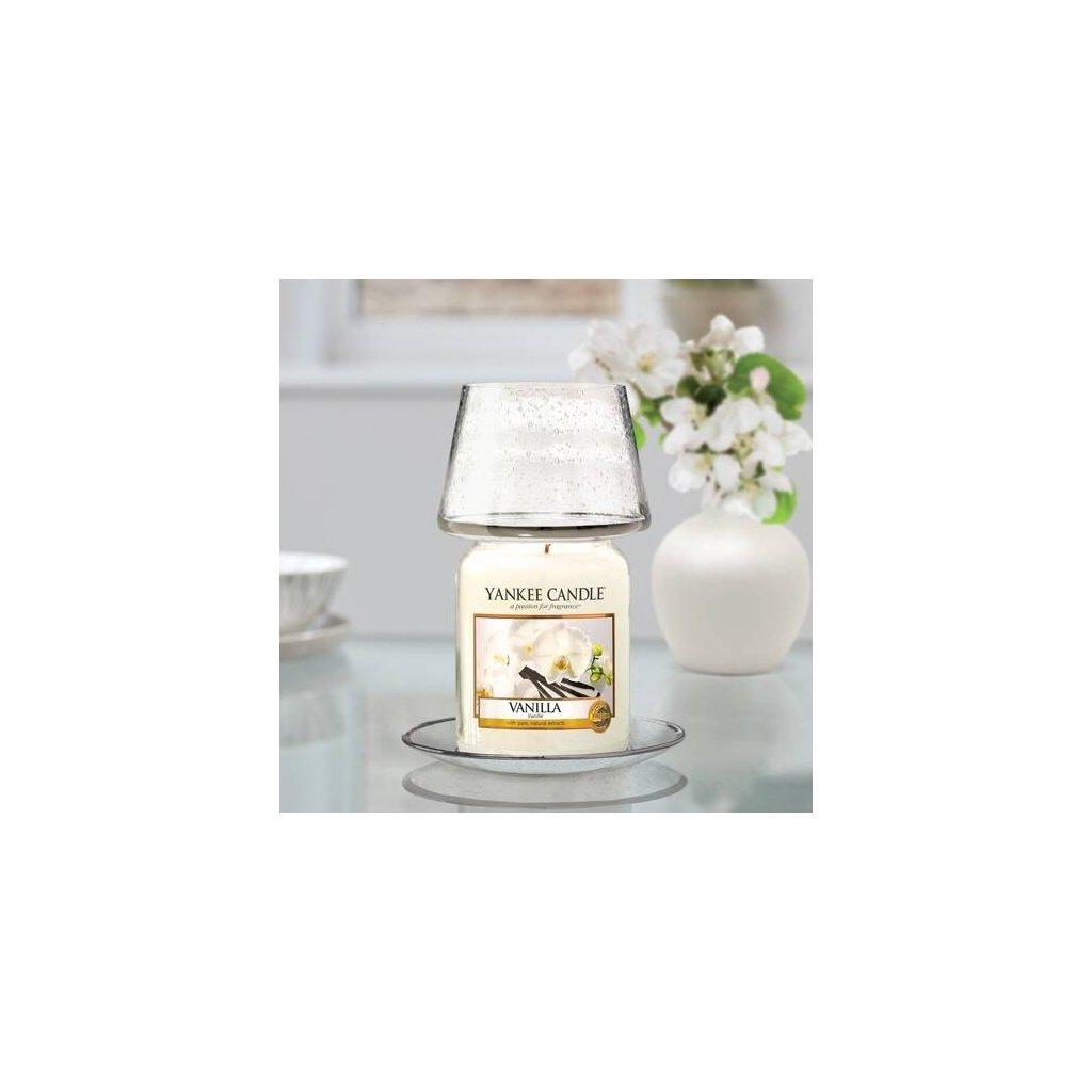 Yankee Candle - sada stínítka a talířku Kensington, na velkou svíčku