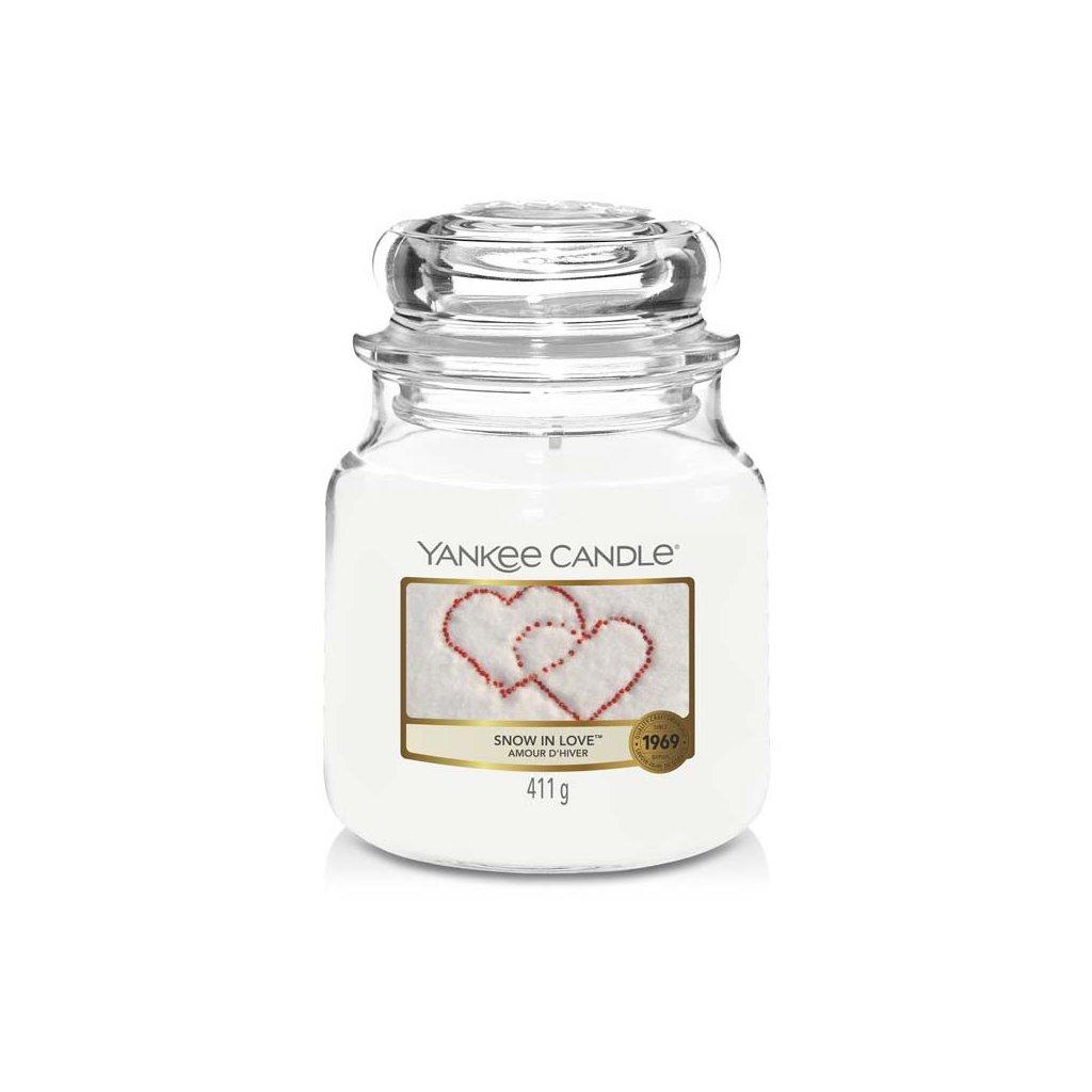 Yankee Candle - vonná svíčka Snow In Love 411g