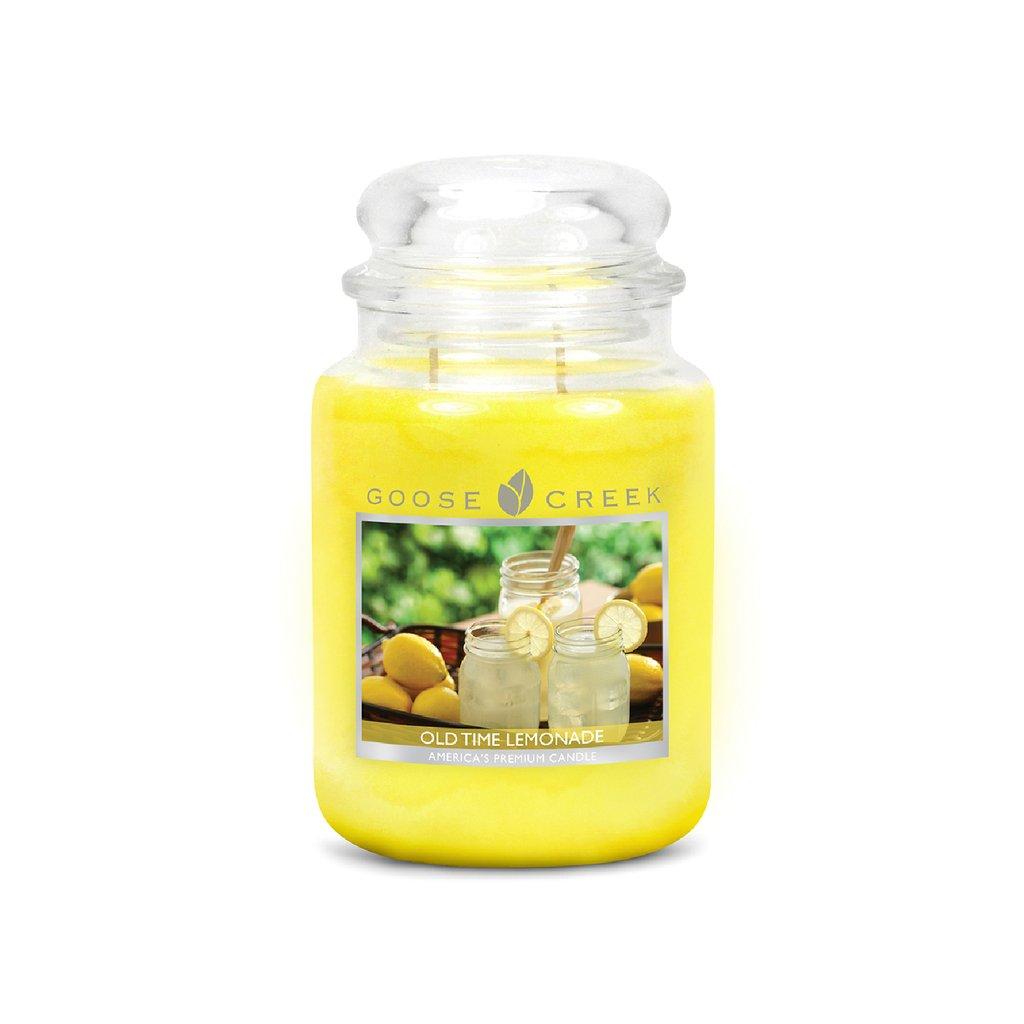 Goose Creek - vonná svíčka Old Time Lemonade (Starodávná limonáda) 680g