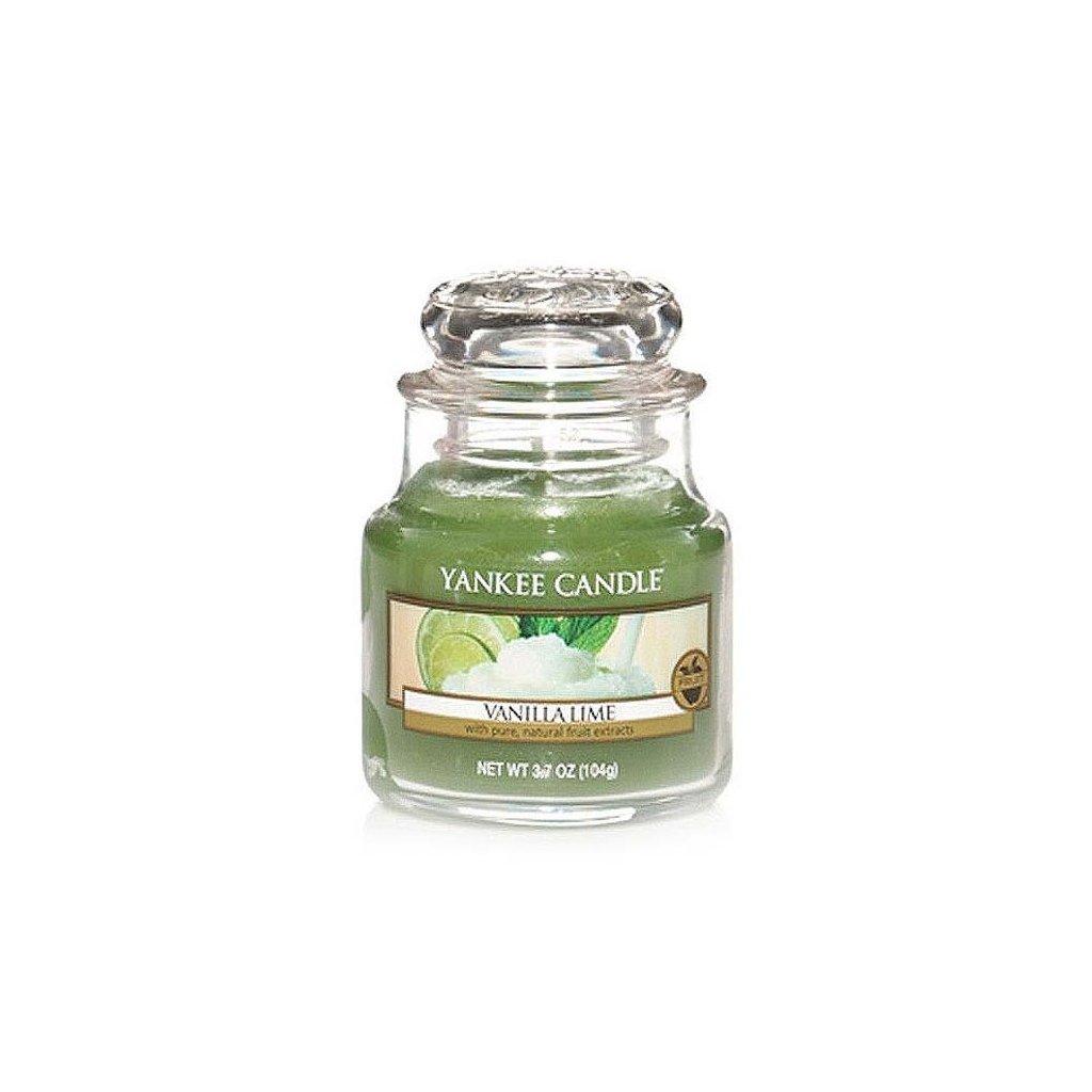 Yankee Candle - vonná svíčka Vanilla Lime 104g