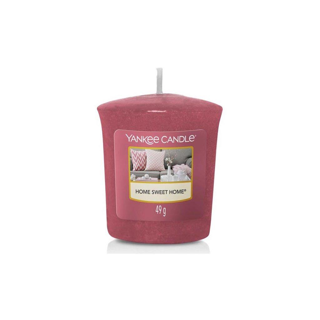 Yankee Candle - votivní svíčka Home Sweet Home (Ó sladký domove) 49g