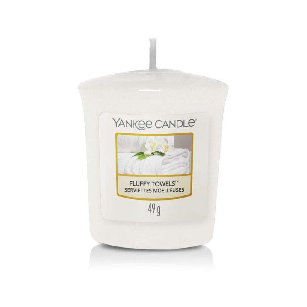 Yankee Candle - votivní svíčka Fluffy Towels 49g