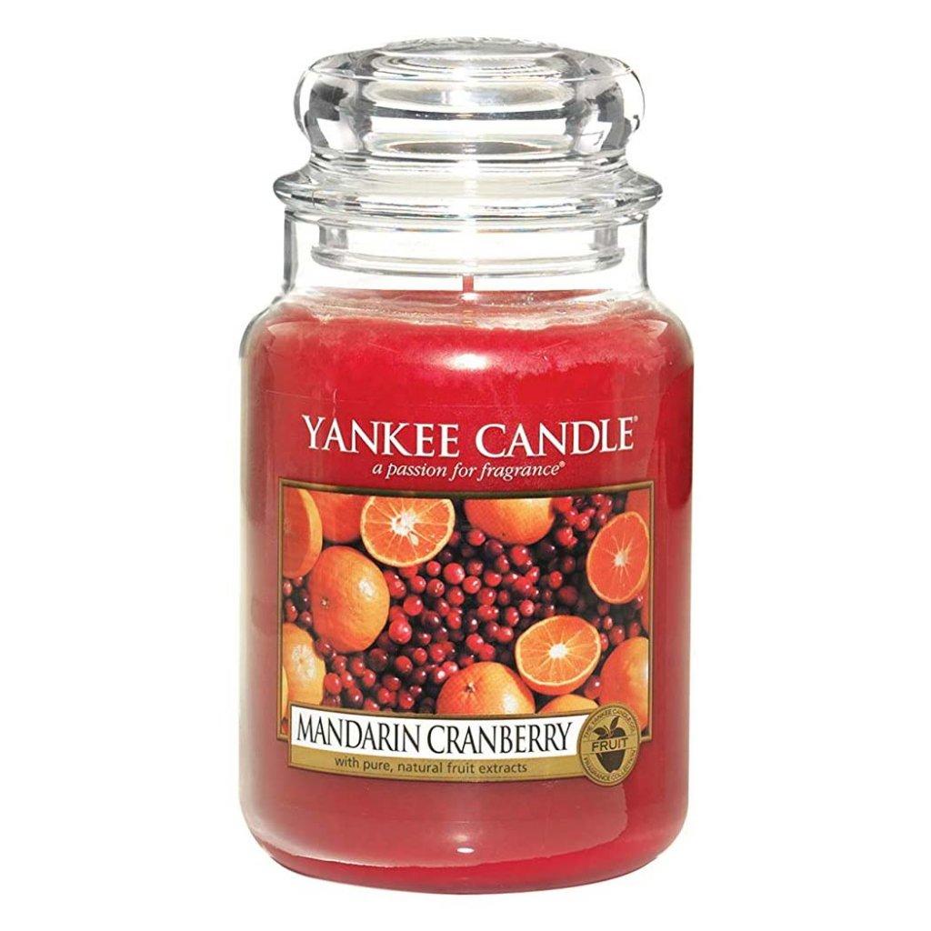 Yankee Candle - vonná svíčka Mandarin Cranberry (Mandarinky sbrusinkami) 623g