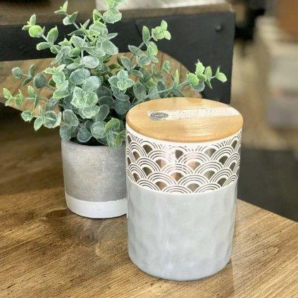 Bridgewater - vonná svíčka Sweet Grace ve zdobené keramické váze, 460g