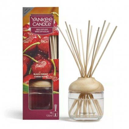 Yankee Candle - aroma difuzér Black Cherry (Zralé třešně) 120 ml