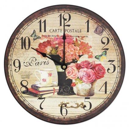 Nástěnné hodiny Paris, 30 cm
