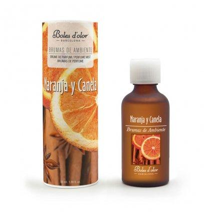 Boles d'olor - vonná esence Naranja y Canela (Pomeranč a skořice) 50 ml