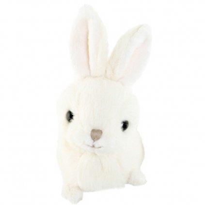 Bukowski - plyšový zajíček Baby Zeus bílý, 10 cm