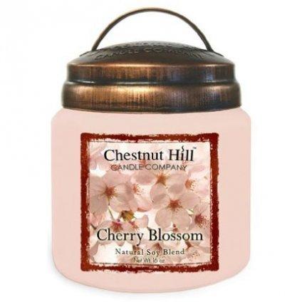 Chestnut Hill - vonná svíčka Cherry Blossom (Třešňový květ) 454g