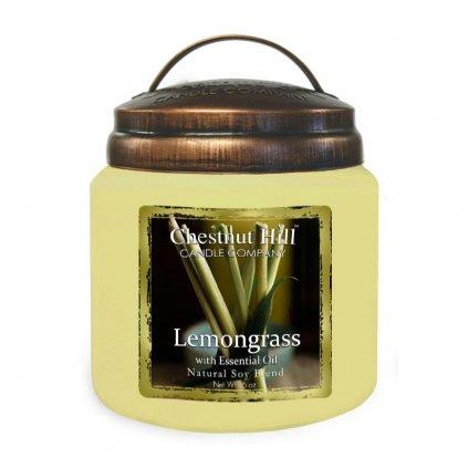 Chestnut Hill - vonná svíčka Lemongrass (Citronová tráva) 454g