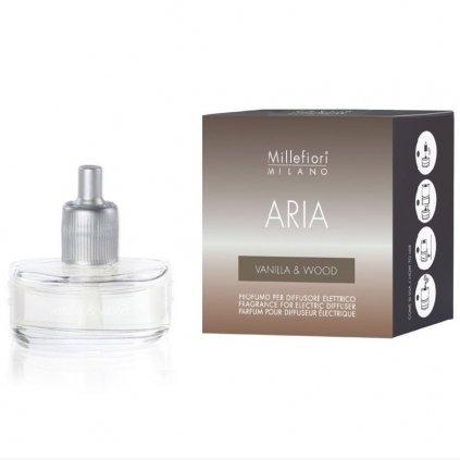 Millefiori Milano - náplň do elektrického difuzéru ARIA, Vanilla & Wood (Vanilka a dřevo)