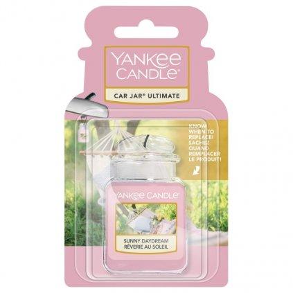 Yankee Candle - gelová visačka do auta Sunny Daydream (Snění za slunečného dne) 1 ks