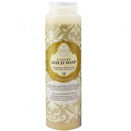 Nesti Dante - přírodní sprchový gel Luxury Gold s 23K zlatem 300 ml