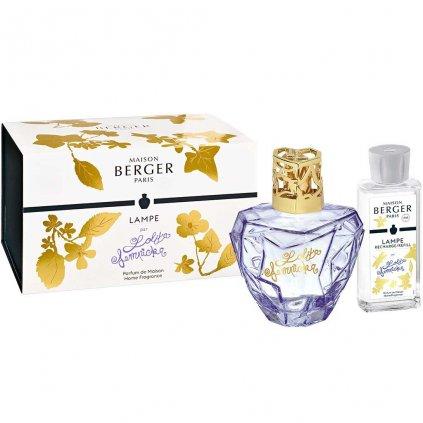 Maison Berger Paris - katalytická lampa fialová + interiérový parfém Lolita Lempicka, dárkový set